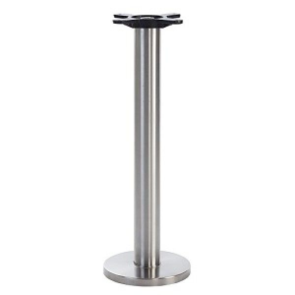 Anchor Brushed Stainless Steel Floor Mounted Dining Base