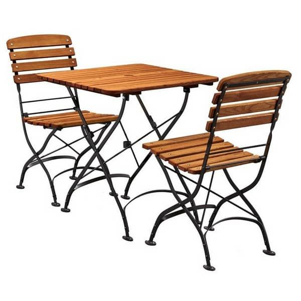 Arch Dining Set Square