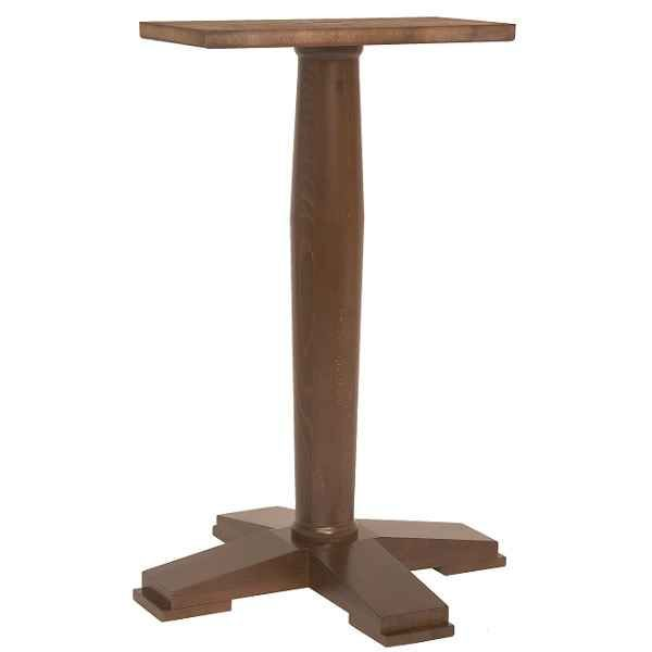 Magnificent Ascot Single Pedestal Pub Bar Wooden Table Bases Wood Colours Download Free Architecture Designs Estepponolmadebymaigaardcom