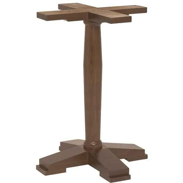 Cool Ascot Single Pedestal Wooden Table Bases Wood Colours Download Free Architecture Designs Estepponolmadebymaigaardcom
