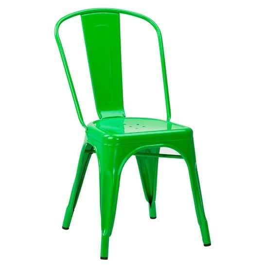 Charmant French Bistro Chairs   Copper, Gun Metal, White, Black, Red Or Green