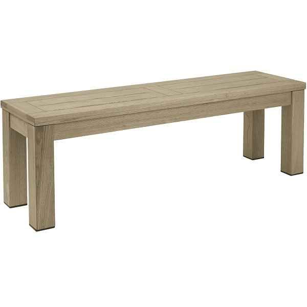 Marvelous Quad Heavy Duty Wooden Outdoor Bench Weathered Pdpeps Interior Chair Design Pdpepsorg
