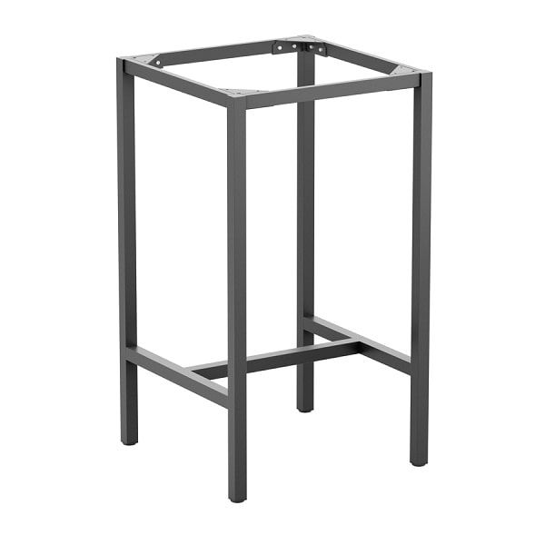 Paris 4 Leg Bar Height Square Table Frame - Size Options