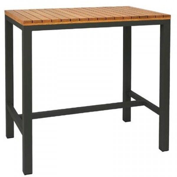 Pier Outdoor Tall Bar Tables Rectangular 1200x750mm
