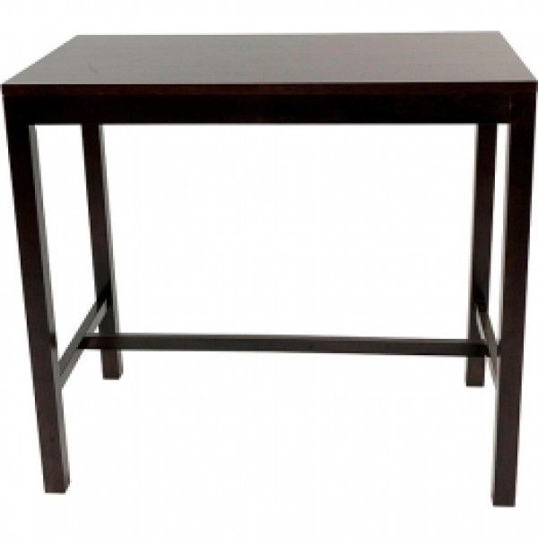Prima V2 Wooden Bar Tables 1200x700mm Rectangle Wood Colours