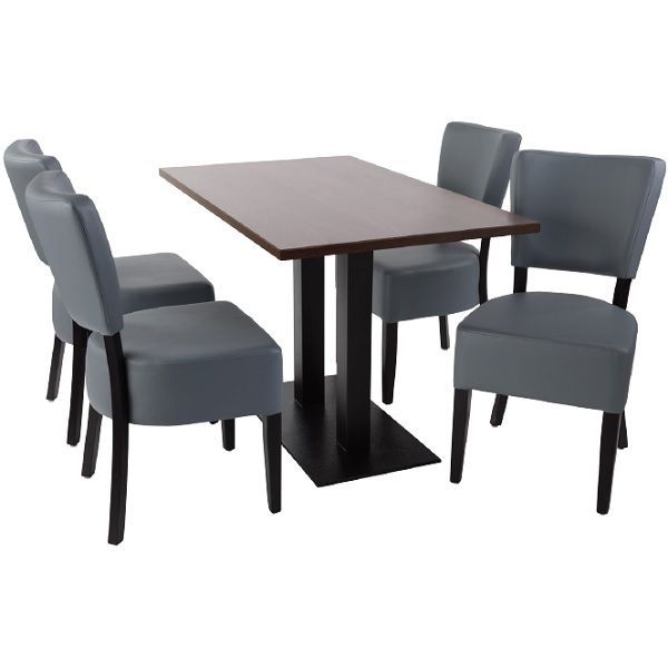 Sena Rectangular Dining Table Chairs Set See Colours